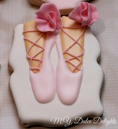 Princess ballerina baby shower cookies | Cookie Connection