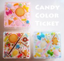 CANDY COLOR TICKET