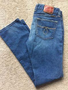 LUCKY BRAND Women's Dark Acid Wash Primrose Lola Straight Jeans Size 8/29    eBay