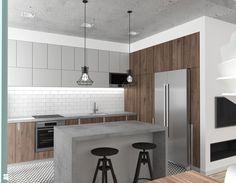 Kuchnia styl Industrialny - zdjęcie od RT Studio - Kuchnia - Styl Industrialny - RT Studio