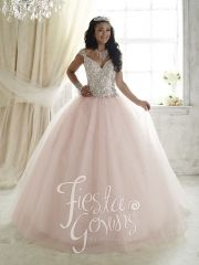 Wholesale baby pink quinceanera dress 2016 tulle straps sweet 15 ball gown with beading 56293 http://www.topdesignbridal.net/wholesale-baby-pink-quinceanera-dress-2016-tulle-straps-sweet-15-ball-gown-with-beading-56293_p4455.html