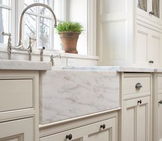 Modern Kitchen Marble Farmers Country Sink