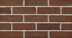 Brewster by Glen-Gery brick is a brown extruded facebrick from the Iberia Plant #brick #glengery #brickhome #brownbrick