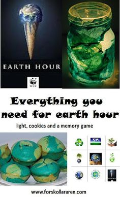 Earth hour craft