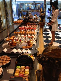 The Patisserie in Le Printemps in the 9th arrondissement in Paris from Flickr / wishbynight
