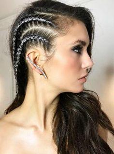 Svetlucave pletenice: šljokice u kosi su novi trend