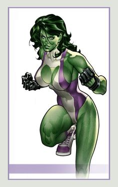She-Hulk (Jennifer Walters) is a fictional character, a superheroine in the Marvel Comics universe. Created by Stan Lee and John Buscema, she first appeared in Savage She-Hulk #1 in 1980. A cousin to Dr. Bruce Banner, Walters once received an emergency blood transfusion from him when she was wounded, which led to her acquiring a milder version of his Hulk condition.