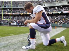 Tim Tebow is a great football player, but I admire him for his unabashed love for God and his willingness to be open about what his devotion to the Almighty means in his life.