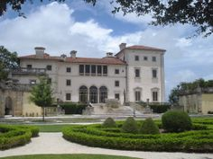 Fun spot for sight seeing on vacation! Vizcaya Gardens, Miami, FL - Beautiful mansion-turned-museum next to the ocean. Architecture, tropical plants, historical artifacts, wildlife, and more for $15/person & $10/person with student ID.