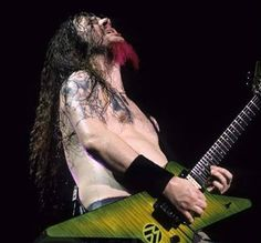 Dimebag shredding! #rip