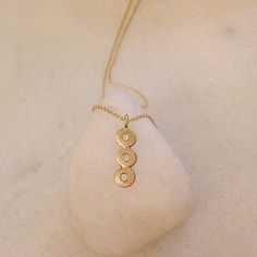 Monsoon Sirocco 3 Diamond Pendant 9ct Gold Gold Necklace, Pendant Necklace, Monsoon, Diamond Pendant, Jewels, Collection, Fashion, Moda, Jewelery