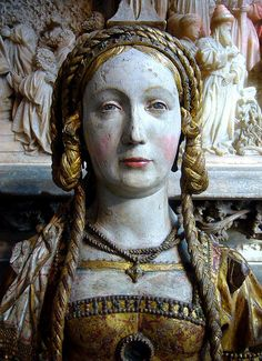 Reliquary Bust of a Companion of Saint Ursula by ggnyc, via Flickr