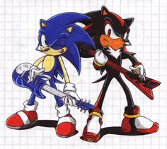 Sonic and Shadow - RQ for SRMS by Maxus-the-fox on DeviantArt