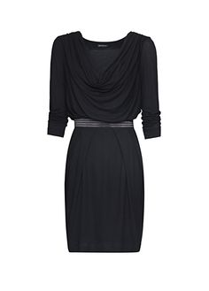 MANGO - Платье с рукавами три четверти