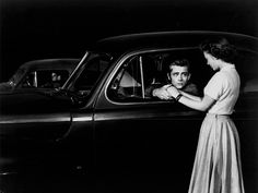 James Dean and Natalie Wood in Rebel Without a Cause, 1955.