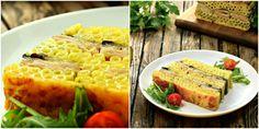 Most egy olyan rakott spagettis receptet mutatunk, ami mindig sikert arat! Tetszés szerint más zöldséggel és felvágottal is elkészítheted. Nem győzök annyit készíteni belőle, hogy[...] Kaja, Hungarian Recipes, Light Recipes, Sauce, Macaroni And Cheese, Food And Drink, Lunch, Bread, Vegetables