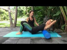 Mid Back Release with Foam Roller - YouTube