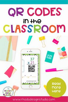 QR Codes in the classroom are great for math, reading, science, and other activities. These 5 ways to use QR Codes in the classroom help teachers save time and help with classroom management. via @rhodastudio
