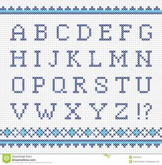 Embroider alphabet Source by judithkhvichia Cross Stitch Alphabet Patterns, Alphabet Charts, Cross Stitch Letters, Cross Stitch Designs, Stitch Patterns, Cross Stitching, Cross Stitch Embroidery, Embroidery Alphabet, Plastic Canvas Letters