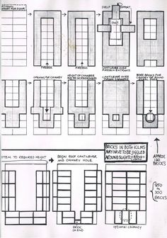 Plans for salt kiln:   These are some scans of photocopies that I took from 'New Zealand Potter' magazine several years ago, showing the pla...