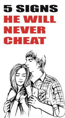 5 SIGNS HE WILL NEVER CHEAT We've all heard the story before. Man grows bored in the relationship, he decides to sneak around behind his woman's back. He gets caught. The girl throws a fit and gets… Relationship Questions, Relationship Advice, Personal Relationship, Relationships Love, Healthy Relationships, Distance Relationships, Why Do Men, Types Of Guys, Marriage Tips