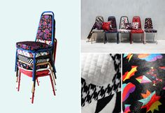 Bangkok-based design agency 56thSTUDIO has come up with fabric patterns inspired by the songs of the Beatles.