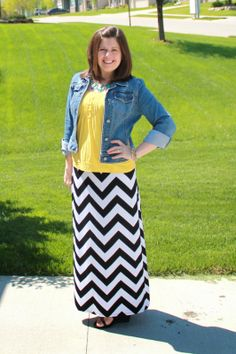 My New Favorite Outfit: Chevron to the Max