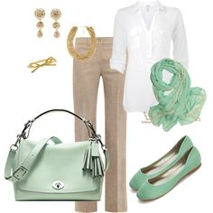 mint accessories for work - Polyvore