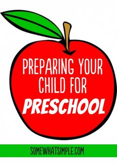 Tips on how to prepare your child for preschool