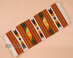 Mexican Indian Zapotec Table Runner  - Mission Del Rey Southwest