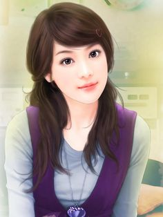 chinese art - 绘现代美女 #197