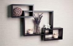 Well Designed Shelf With Easy Install For Home Interior Design Ideas: Beautiful Shelfs For Wall Decor For Home Design And Decorating Modern Living Room Ideas