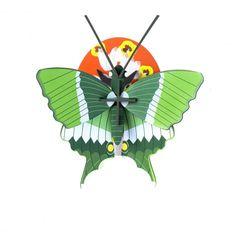 Décoration murale Papillon Vert