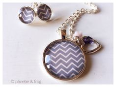 Blue Chevron Set