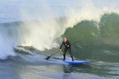 Surf the around the Pismo Beach Pier