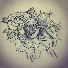 georgina liliane,spider,tattoo