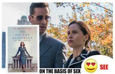#OnTheBasisOfSex #SEEorSNUB #Movie #Film #Movies #Films #ArmieHammer #FelicityJones Movie Film, Movies, Felicity Jones, The Best Films, Writer, Author, History, Historia, Films