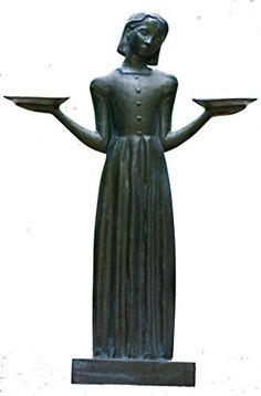 Originally Sculpted By Sylvia Shaw Judson Savannah 39 S Bird Girl In 1935 This Enchanting