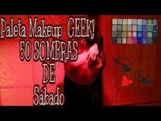 Paleta GEEK / Saga 50 SOMBRAS DE SÁBADO NOCHE!/ I HEART MAKEUP