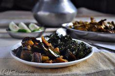 Nim Begun and Sojne danta charchari-A light Spring Meal