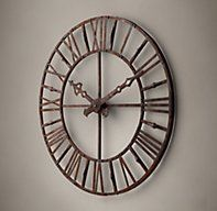 1840s Belgium Working Tower Clock