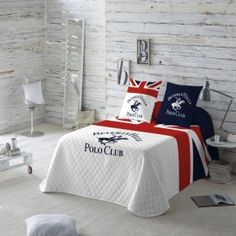Colcha Bouti Madison Beverly Hills Beverly Hills Polo Club, Linen Bedding, Bed Linens, Home Decor Bedroom, Comforters, Blanket, Luxury, Furniture, Polo Ralph
