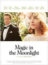 Magic in the Moonlight le dernier Woody Allen avec Colin Firth et Emma Stone. Stanley se rend chez les Catledge qui possèdent une somptueuse propriété sur la Côte d'Azur et se fait passer pour un homme d'affaires, du nom de Stanley Taplinger, dans le but de démasquer la jeune et ravissante Sophie Baker, une prétendue médium, qui y séjourne avec sa mère.