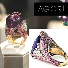 #italianchic #jewelry by @agorijewels a sense of details. Italian creativity at its best! One of a Kind and Limited Edition #jewels #diamond #amethyst #pinksapphire #madeinitaly 🇮🇹 and Available in the #usa #exclusively 🇺🇸 from #gerardriveron www.gerardriveron.com/collections/agori Contacts: @pacinoleone & @gerardriveron #Regram via @gerardriveron