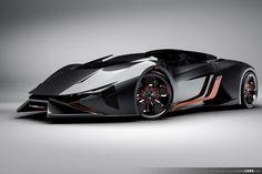 Future Lamborghini | The Roadster version of the amazing looking 2023 Lamborghini Diamante ...