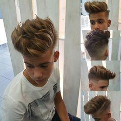 Haircut by hs_alvaroferrete http://ift.tt/1VplvEd  #hairstyles #barbers