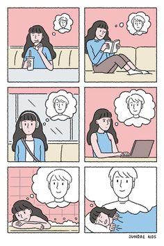 Love Cartoon Couple, Cute Couple Comics, Couples Comics, Comics Love, Cute Couple Art, Cute Comics, Simple Love Quotes, Cute Love Quotes, Cute Love Cartoons