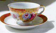 Porcelain Translucent China Hand Painted by BonAppetitAntique