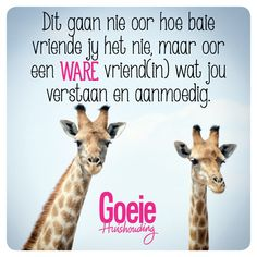 Beste vriende! Best Friend Quotes, Best Quotes, Funny Quotes, Life Quotes, Friend Friendship, Friendship Quotes, Afrikaanse Quotes, Sister Love, True Friends