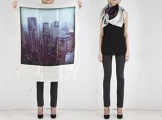 polaroid scarves! You know our afg photo idea...this would be a greater and much more powerful message don't you think?